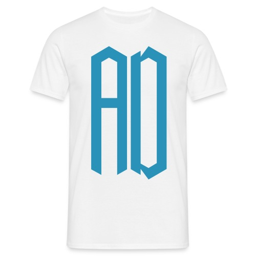 AD Homme BLANC & BLEU - T-shirt Homme