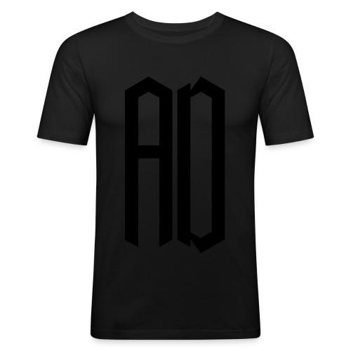 AD Homme JAUNE & NOIR - T-shirt près du corps Homme