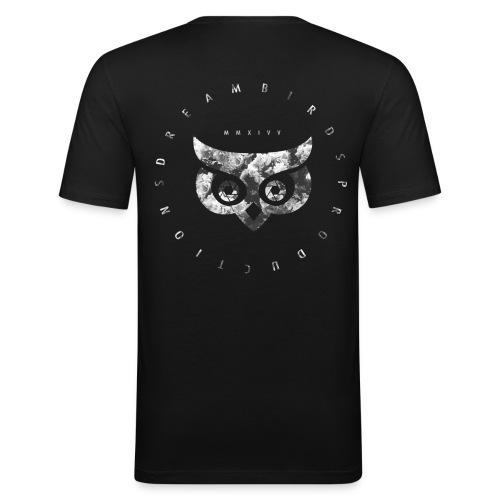 DREAMBIRDS CREW - Männer Slim Fit T-Shirt
