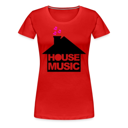 House Music - Vrouwen Premium T-shirt