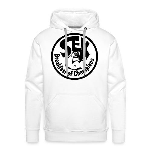 Sex Breakfast of Champions  - Mannen Premium hoodie