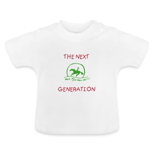 Sunset Rider - The Next Generation Baby Body ( Print: Green, Pink) - Baby T-Shirt