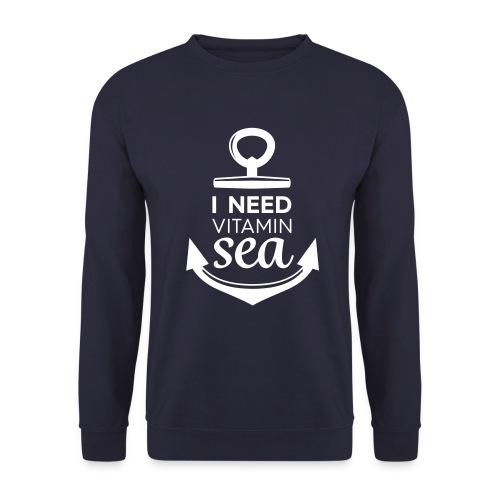 i Need Vitamin Sea - Men's Sweatshirt