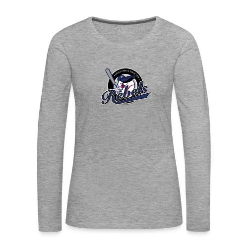 Frauen Langarmshirt Rebels Logo Small - Frauen Premium Langarmshirt