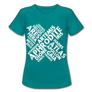 Free Athlete Kreuz Götter - Frauen T-Shirt