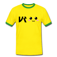 T-Shirts ~ Männer Kontrast-T-Shirt ~ UR Anime Shirt