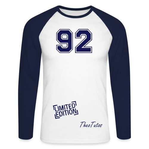 92 Limited Edition by TheoTutos  - T-shirt baseball manches longues Homme