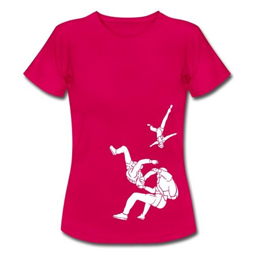 Freefall Pink - Women's T-Shirt
