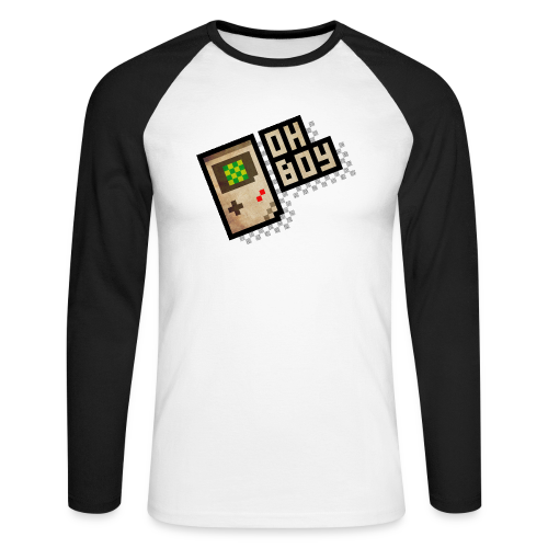 Oh Boy - Men's Long Sleeve Baseball T-Shirt