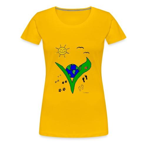 veggie Shirt für Frauen - Frauen Premium T-Shirt