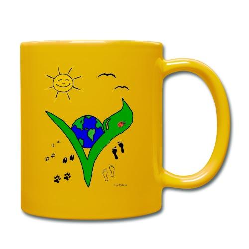 veggie Tasse - Tasse einfarbig