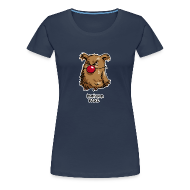 T-Shirts ~ Frauen Premium T-Shirt ~ Komischer Kauz