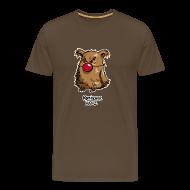 T-Shirts ~ Männer Premium T-Shirt ~ Komischer Kauz