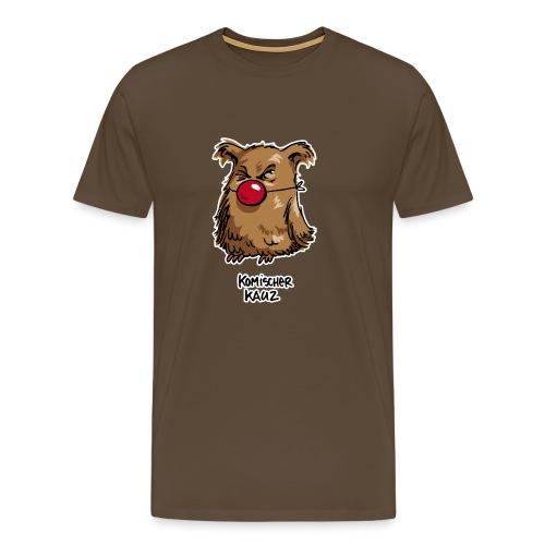 Komischer Kauz - Männer Premium T-Shirt