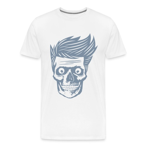 Hipsterios Skull - Men's Premium T-Shirt