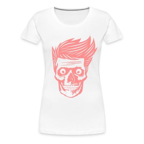 Hipsterios Skull - Women's Premium T-Shirt