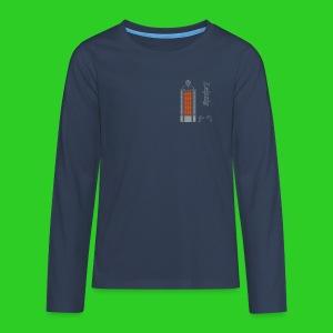 Messehochhaus Leipzig,  Premium Shirt longsleeve teenager - Teenager Premium Langarmshirt