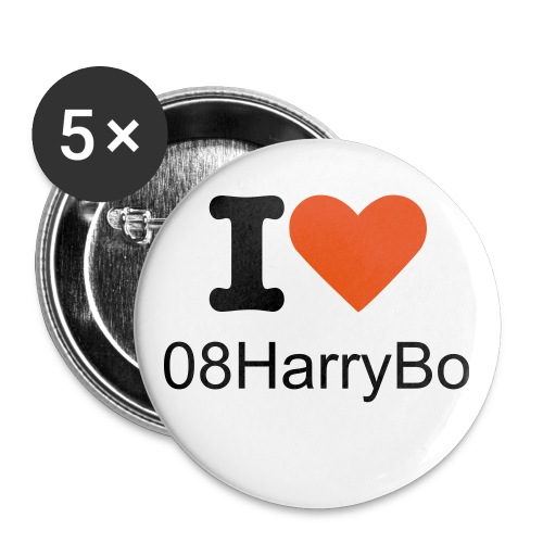 Some 08HarryBo Badges - Buttons small 25 mm