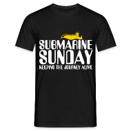 T-Shirts ~ Men's T-Shirt ~ Submarine Sunday
