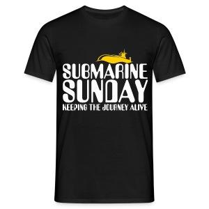 Submarine Sunday - Men's T-Shirt