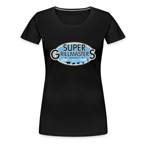 Super Grillmasters - Dame premium T-shirt