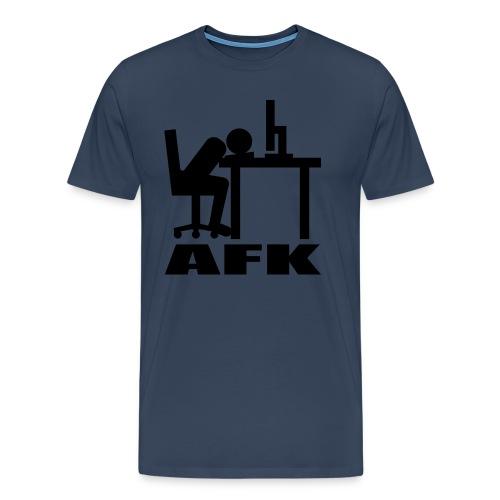 AFK T-Shirt | DYNIPLAYS - Männer Premium T-Shirt
