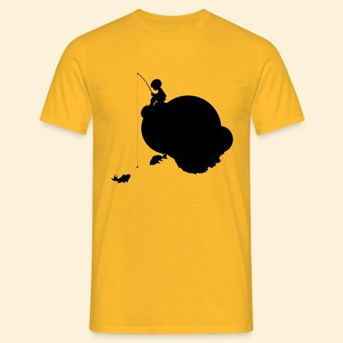 Planet Angeln_s - Männer T-Shirt