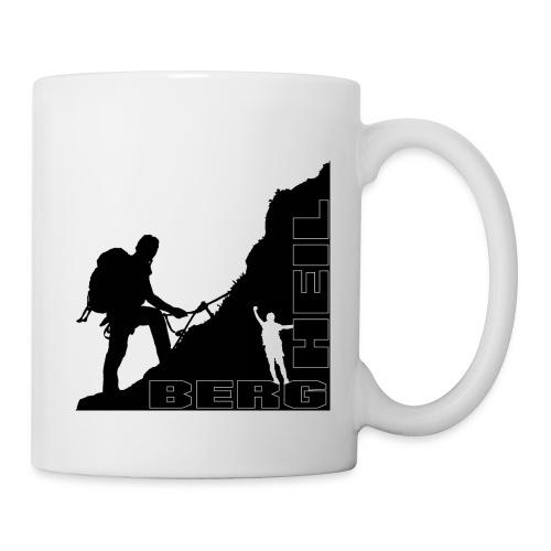Kaffee Tasse Pott Berg Heil - Tasse
