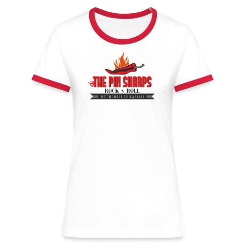 Chilli Girl Red - Frauen Kontrast-T-Shirt