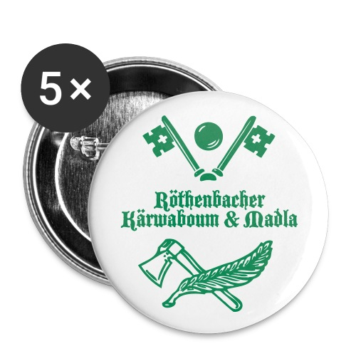 Röthenbacher Kärwaboum & Madla PINS - Buttons klein 25 mm