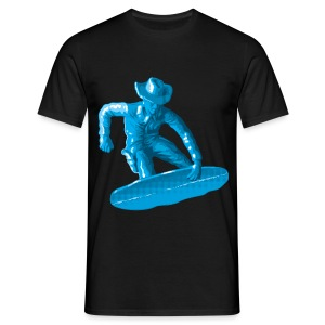 blue snowboarding toy - T-shirt Homme