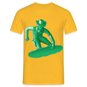 Green snowboarding toy - T-shirt Homme