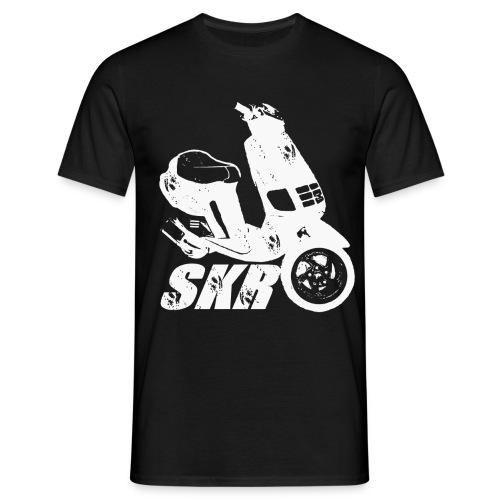 SKR Shirt - Front + Backprint - Männer T-Shirt
