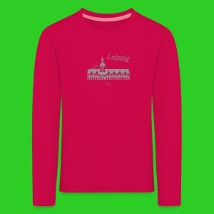 Leipzig altes Rathaus,  Premium Shirt longsleeve children - Kinder Premium Langarmshirt