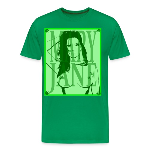 t-shirt mary green - T-shirt Premium Homme
