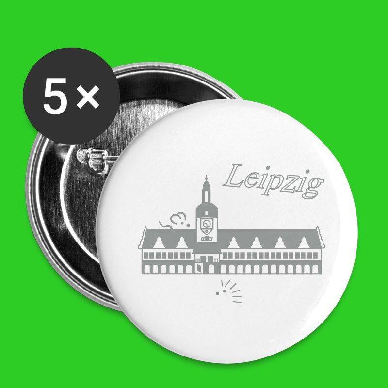Leipzig altes Rathaus - Buttons klein 25 mm