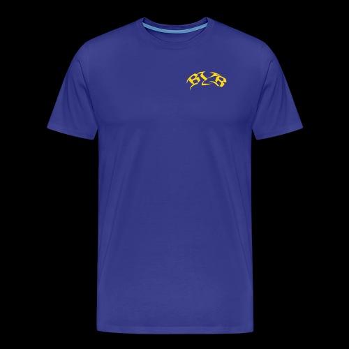 Blue Yellow Boy T-Shirt - Männer Premium T-Shirt