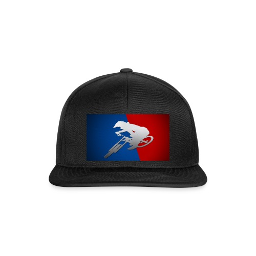Cap black downhill league - Casquette snapback