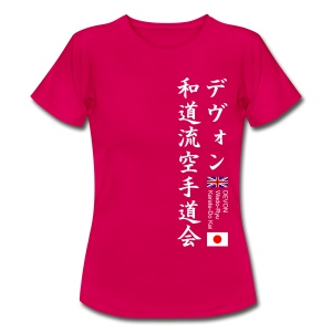 Devon Wado-Ryu Karate-Do Kai - Women's T-Shirt
