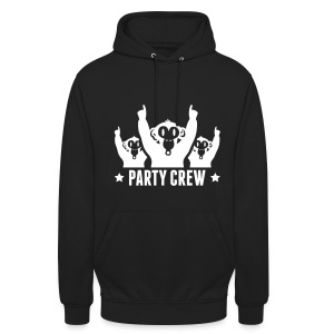sweater the party crew - Hoodie unisex