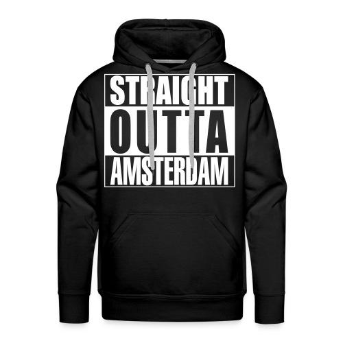 Straight outta Amsterdam - Mannen Premium hoodie