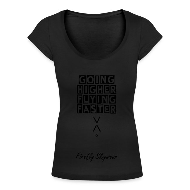 Higher/Faster Round Collar T Woman