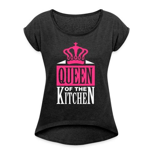 QUEEN - Maglietta da donna con risvolti