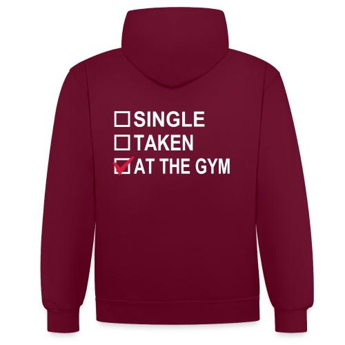 RIGD Sweatshirt - Kontrast-hættetrøje