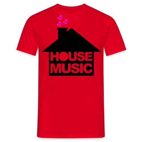 House Music - Mannen T-shirt