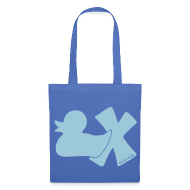 Taschen & Rucksäcke ~ Stoffbeutel ~ Beutel Ente mit X
