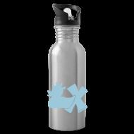 Tassen & Zubehör ~ Trinkflasche ~ Trinkflasche mit Punkerente mit X
