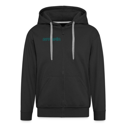 Hooded Jacket - Atropin - Männer Premium Kapuzenjacke