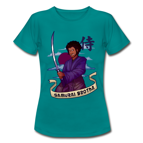 Samurai Brotha - Women's T-Shirt