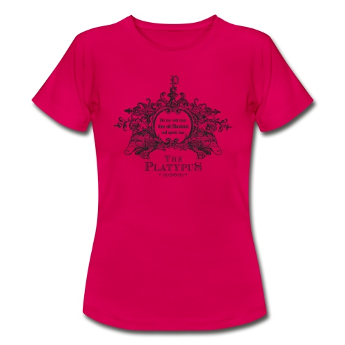 Platypus vrouwen t-shirt - Vrouwen T-shirt